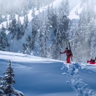 Italia centrale la vacanza sulla neve
