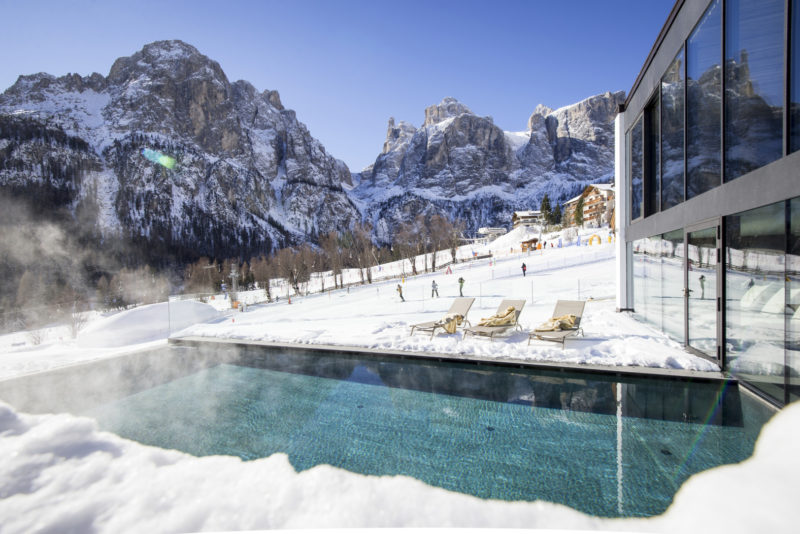 piscina esterna Romantik Arthotel