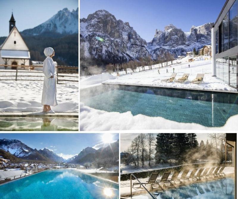 piscine riscaldate hotel su neve