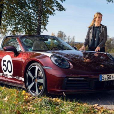 Porsche 911 e donna