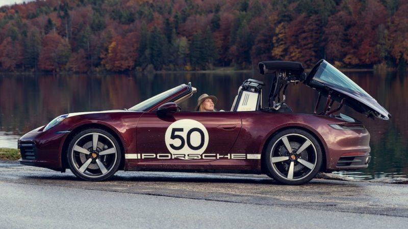 Porsche 911 rossa