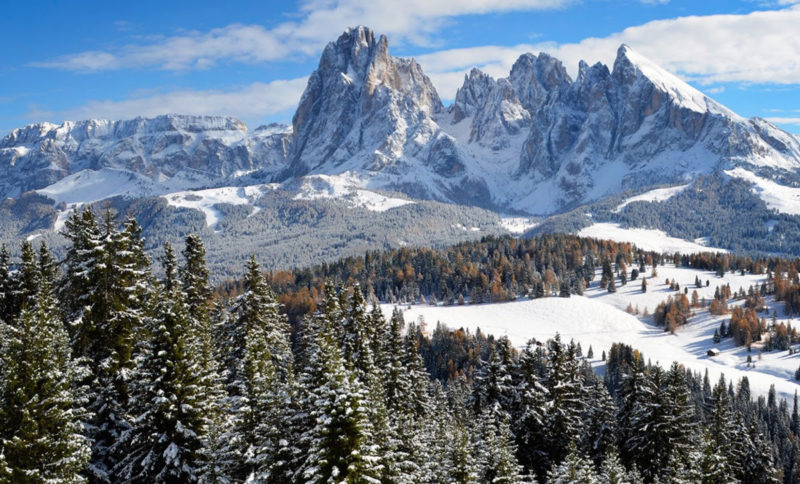 visuale alpe da Alpina Dolomites Health Lodge & Spa