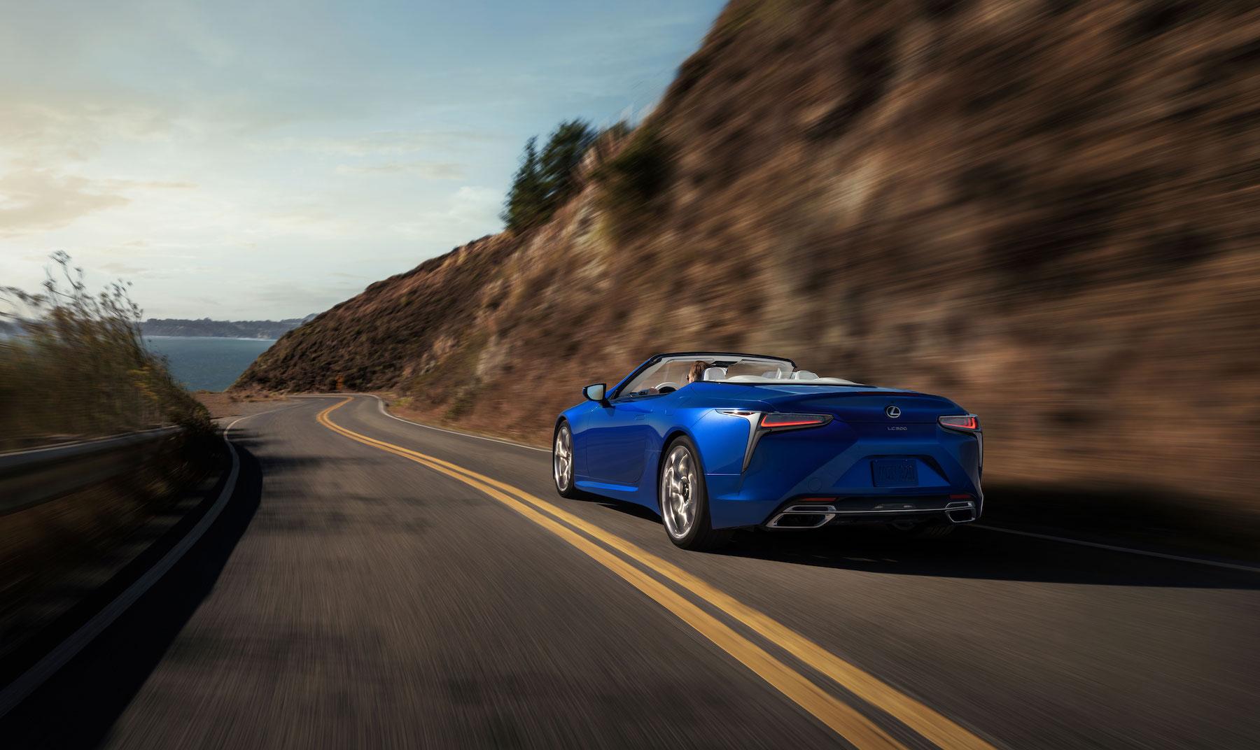 migliori auto cabrio: Lexus LC 500 Convertible