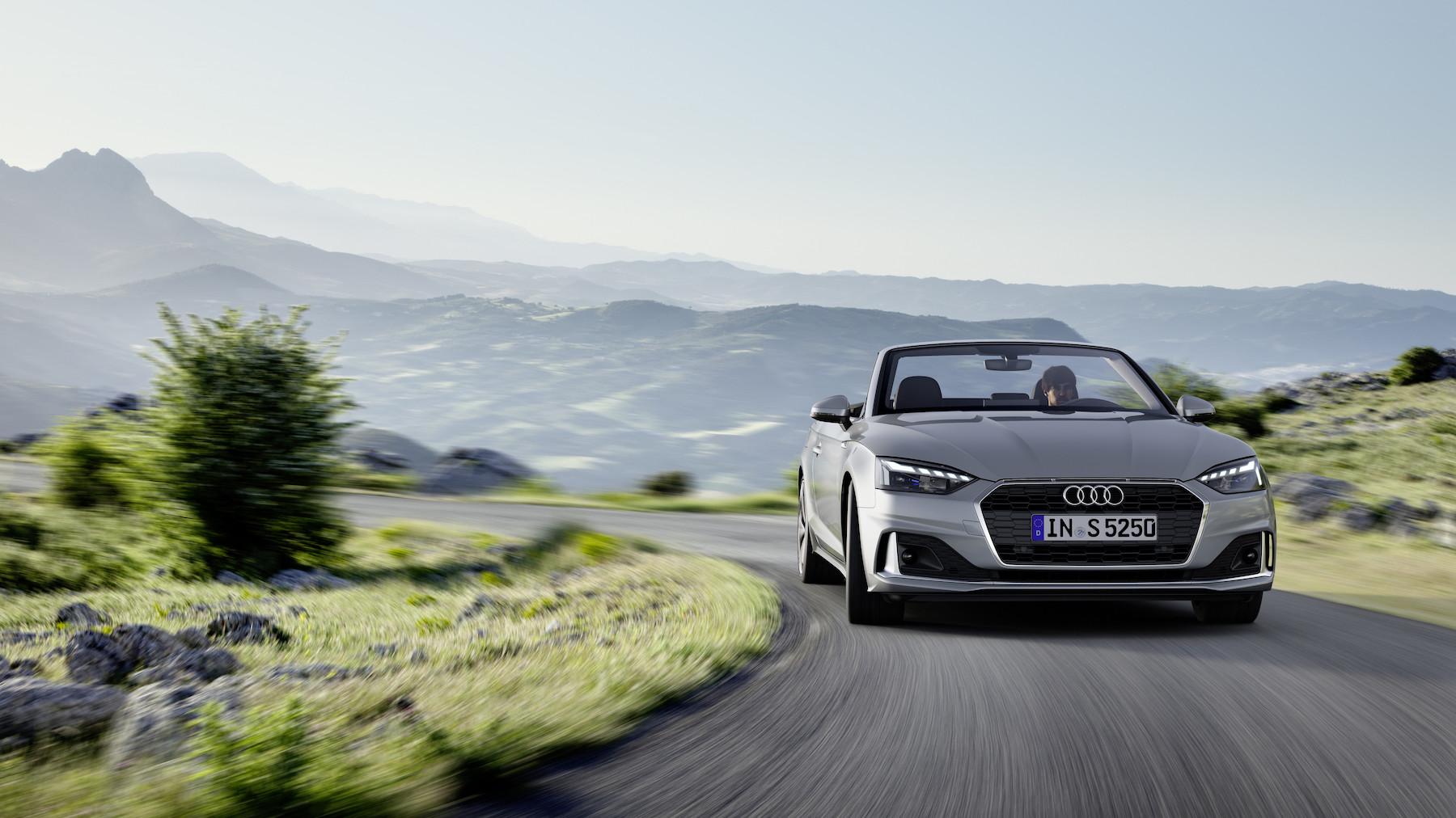 migliori auto cabrio: Audi A5 Cabriolet