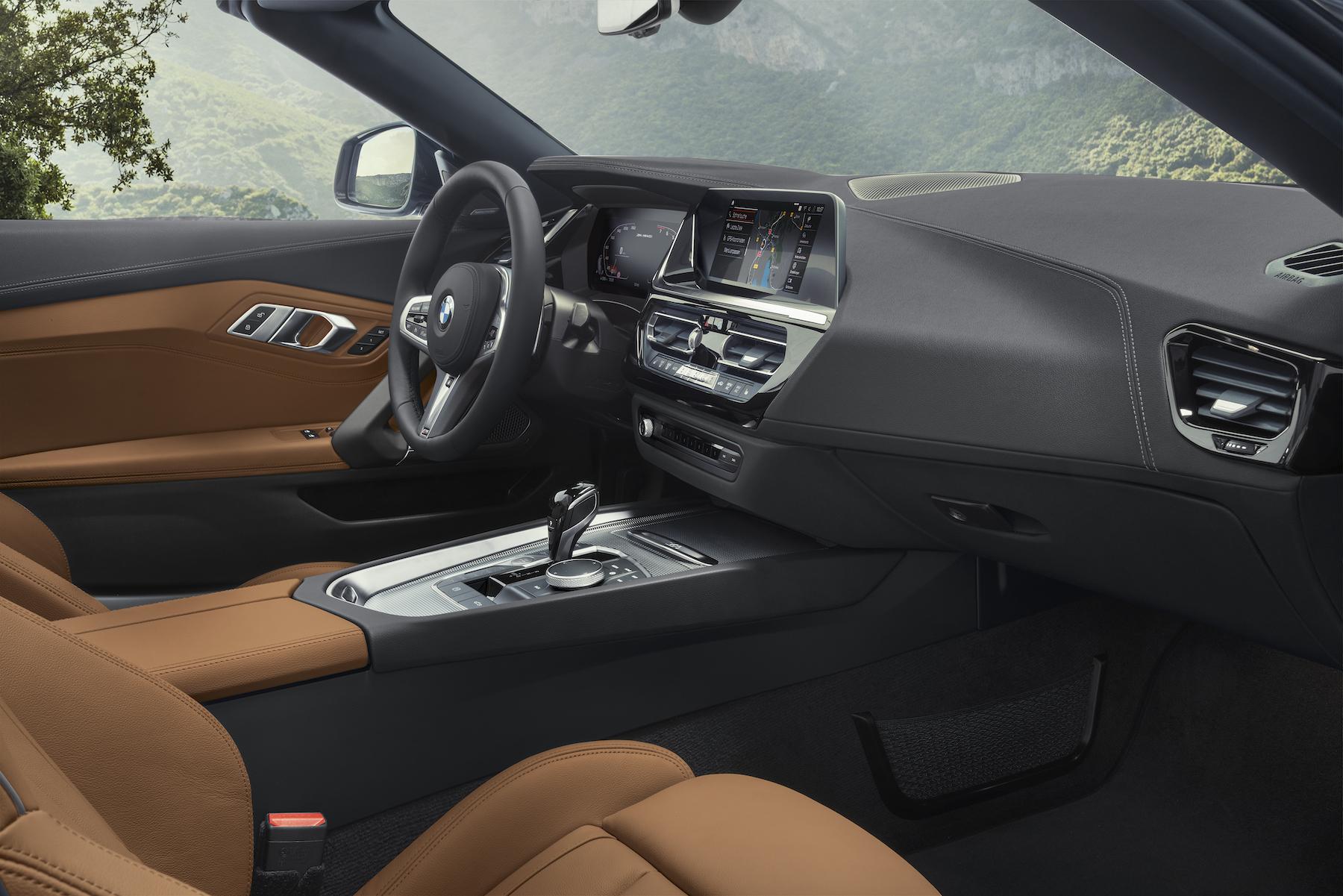 Interni BMW Z4