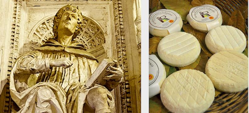 La robiola, formaggio di cui scrisse nientemeno che Pilnio il Vecchio