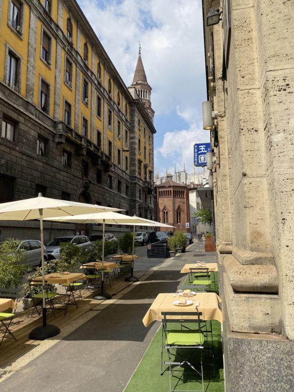 Ristoranti all'aperto a Milano Il Giardino di Giada