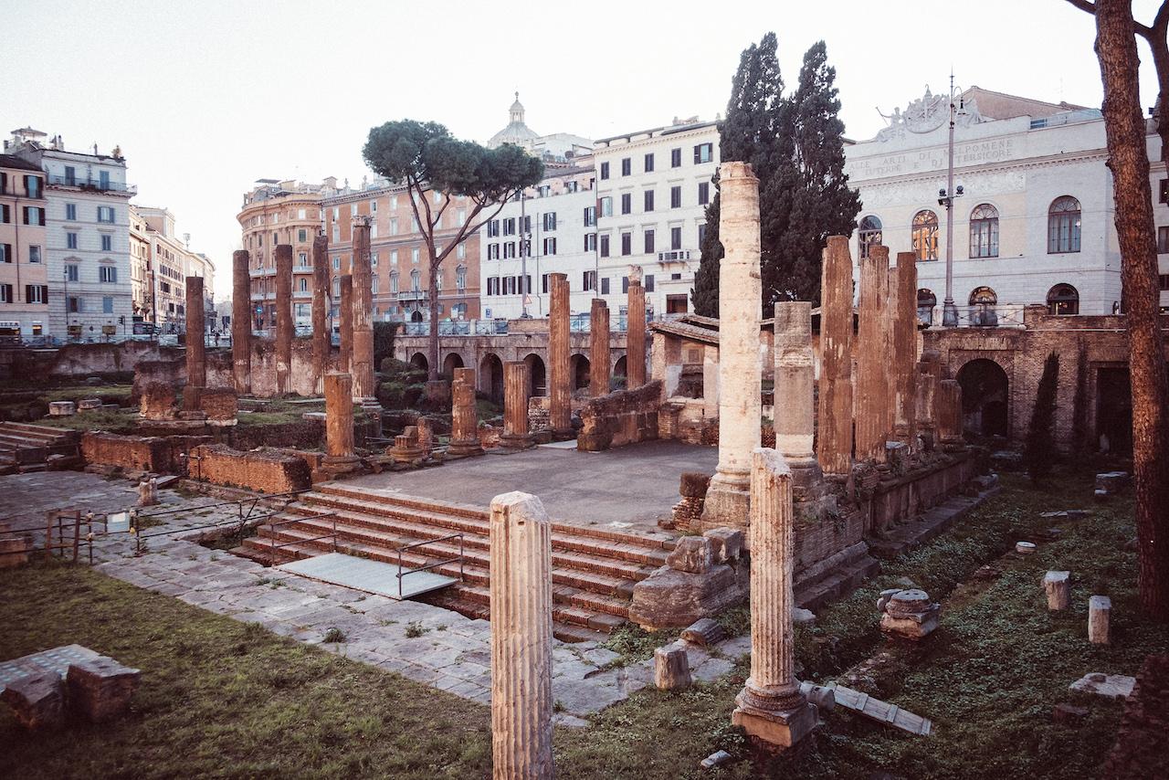 L'area sacra di Largo Argentina: un nuovo museo romano firmato Bulgari