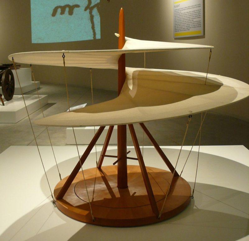 leonardo a Milano: Macchina_volante_-_Museo_scienza_tecnologia_Milano