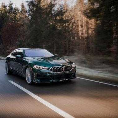 BMW ALPINA B8 - cover