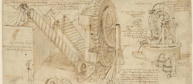 leonardo a Milano: ambrosiana- milano-codice-atlantico