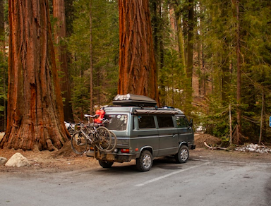 camper e bici