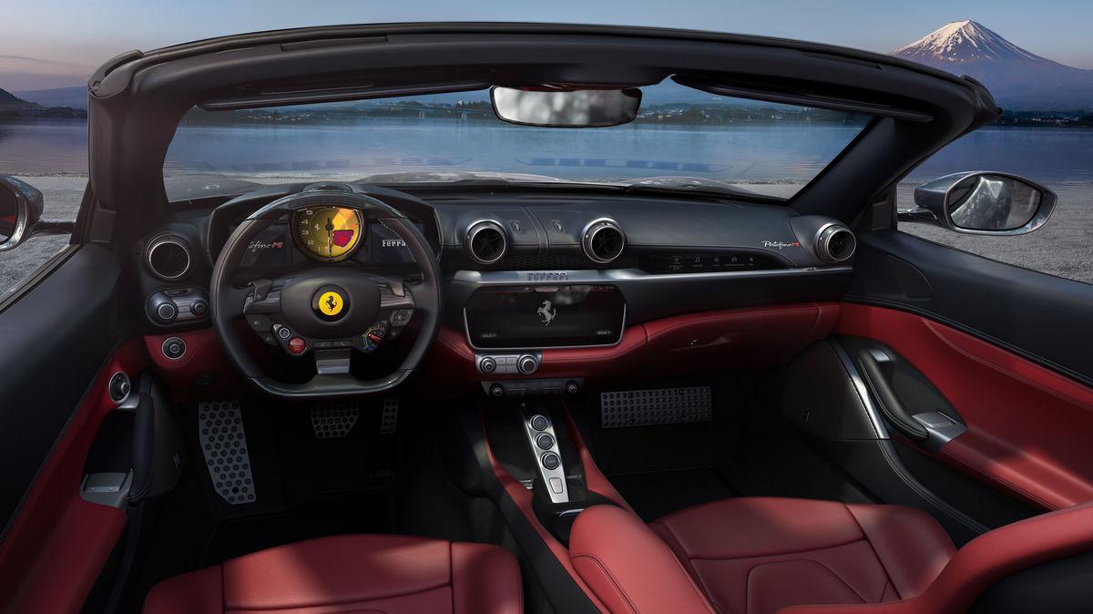 Ferrari Portofino M - interni