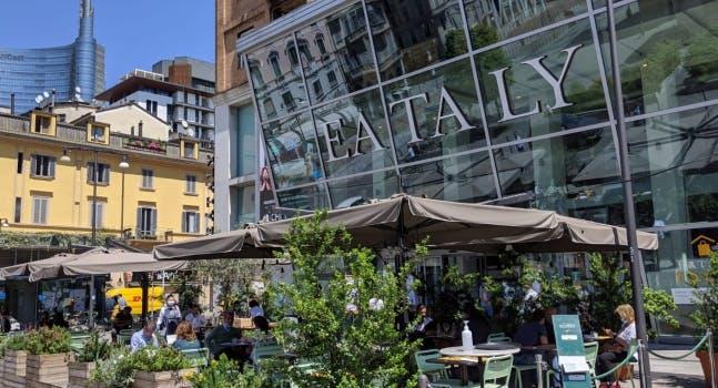 Ristoranti all'aperto a Milano Eataly All'aperto