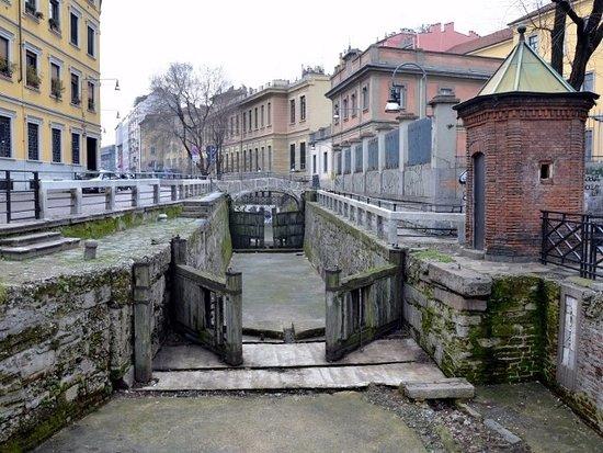 leonardo a Milano: conca incoronata