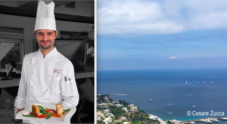 """The name """"Chef Raffaele Amitrano Mamma'"""