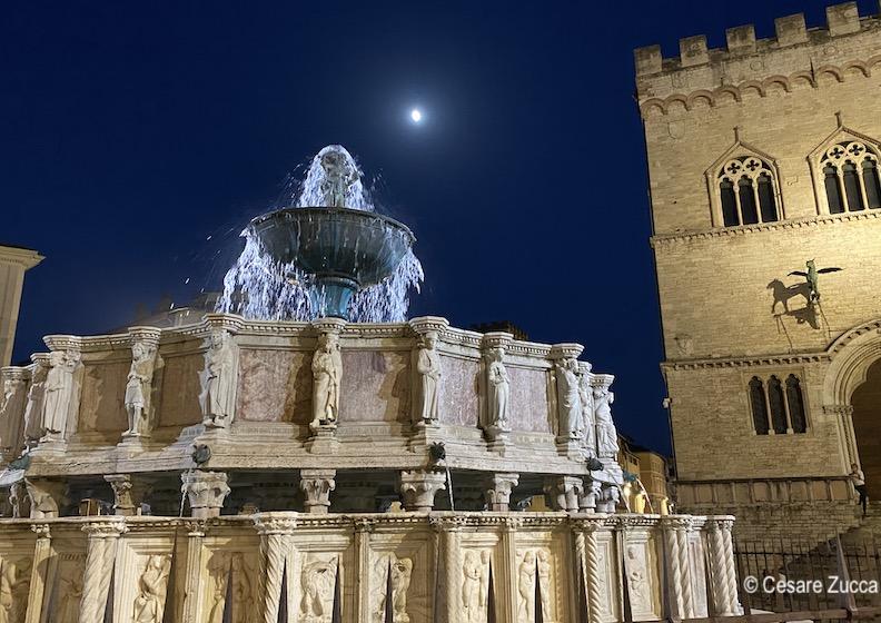 L'incanto di Piazza della Fontana a Perugia