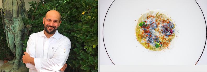 Chef Roberto Toro e il suo risotto con la partecipazione straordinaria dei tenerumi!