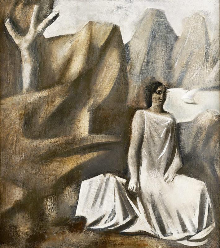 arte-a-milano-sironi-Composizione-La-fata-della-montagna-1928