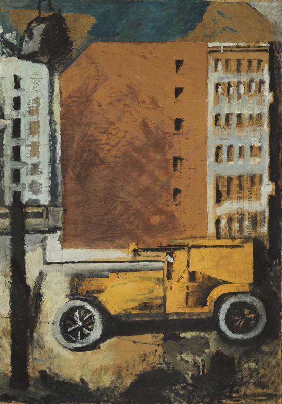 sironi-Il-camion-giallo-1919