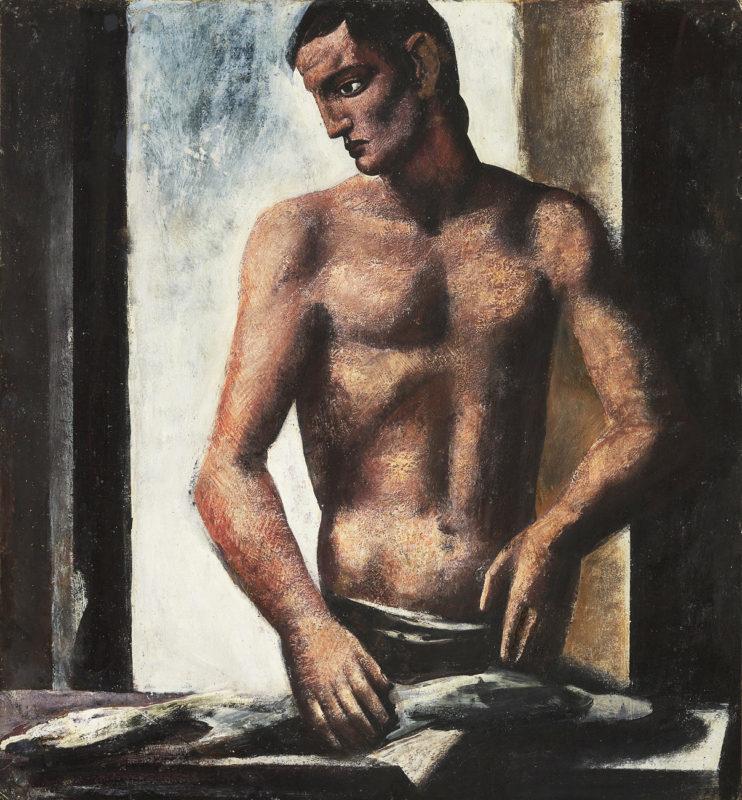 sironi-Il-pescivendolo-1925