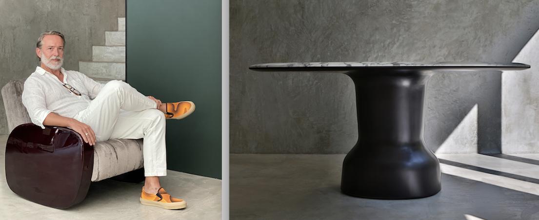 emanuele genuizzi e il tavolo Musa
